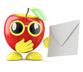 3d Apple sends a letter