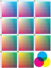 colori C M G