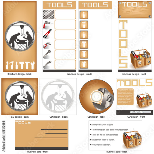 tools template design