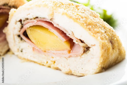 Cordon bleu - chicken cutlet
