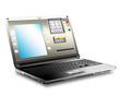 Onlinebanking mit Laptop