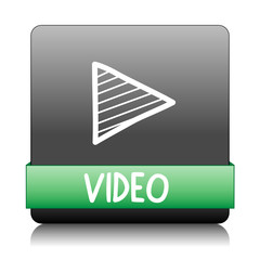 """""""VIDEO"""" Web Button (play watch media player technology)"""