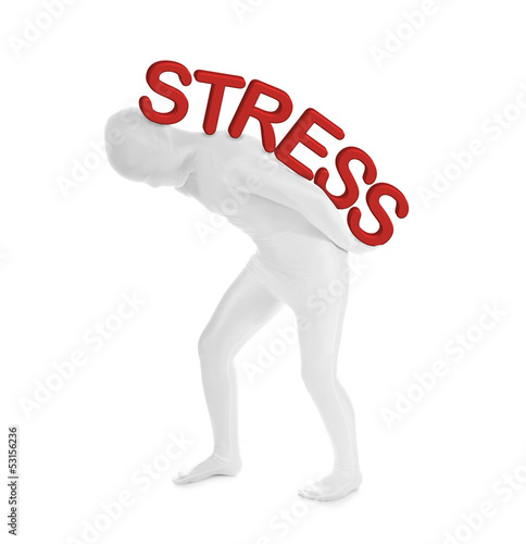 Stress – Zentai – Morphsuit Person