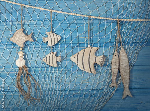 Marine life decoration