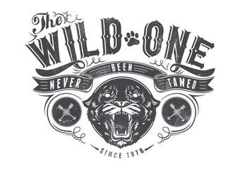 The wild one © Tshirt-Factory.com