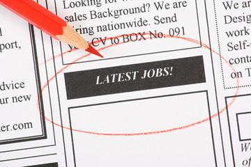 Latest Jobs in Newspaper Classifieds