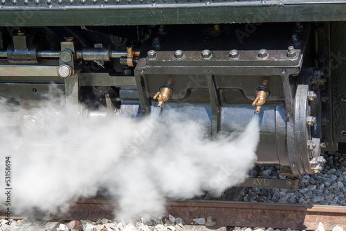 Envoi de vapeur