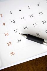 date on calendar