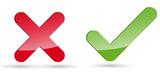 Keuz Haken Icons