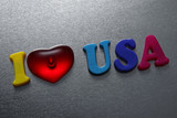 i love usa sign
