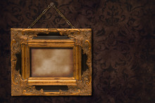 Gilt Frame On Wall