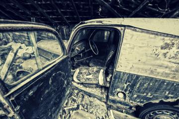 vintage wreck