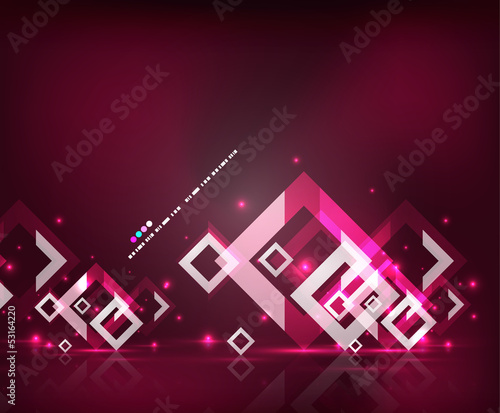 Modern abstract geometrical design