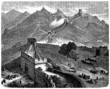 The Great Wall of China - View 19th century