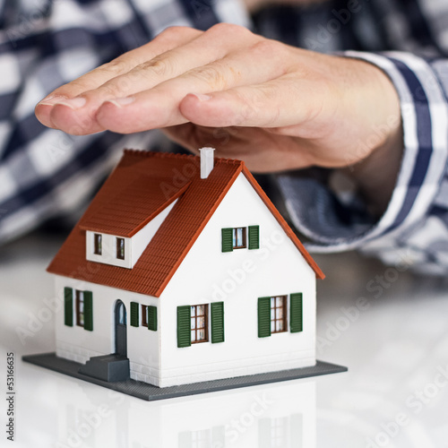 Hand over mini house