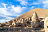 Heads on Nemrut Mountain