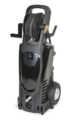 Black pressure portable washer with hose