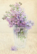 Bouquet of a lilac