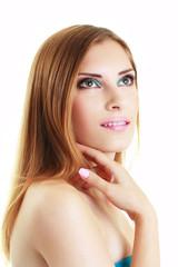make-up woman