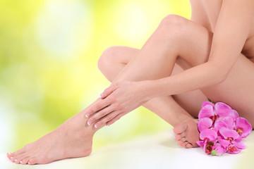 sanfte Körperpflege