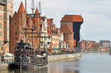 Fototapety Old town of Gdansk