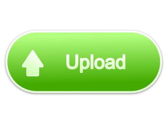 Upload button green (vector)
