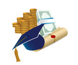 profits after graduation concept