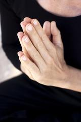 Zen yoga hands