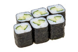 Hosomaki sushi with cucumber