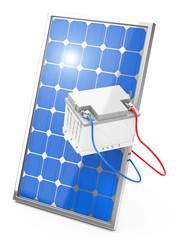 Die Photovoltaik-Energiespeicherung