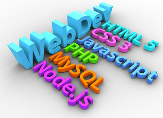 Web development tools for HTML site