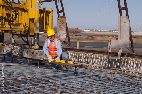 Bridge Construction worker