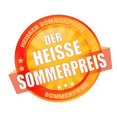 Icon Button Der heisse Sommerpreis