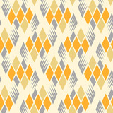 Seamless retro vintage diamond pattern 2