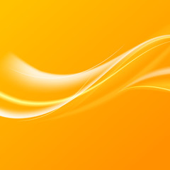 Abstract orange wind.