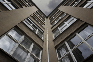 Fassade Industriegebäude
