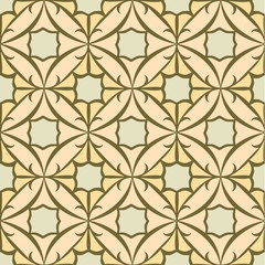 Seamless Tile Pattern, Oriental Style. Repeating and Scalable