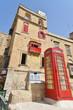 Cabine téléphonique à Malte