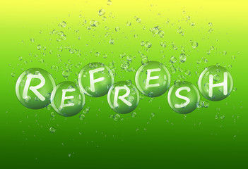 Refresh concept.