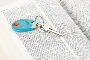 Loaction , Clés , Dictionnaire