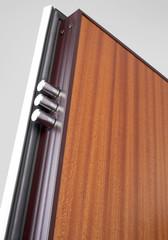Wooden doors with lock 16