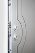 Wooden doors with lock 11
