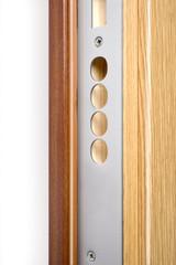 Wooden doors with lock 13