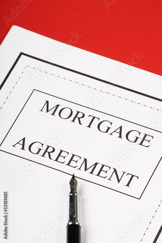 Mortgage Agreement ready for signature