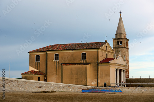 The Church of the Blessed Virgin of the Angel in Caorle