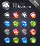 Glossy Pebbles - Cloud Computing Icons