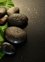 wet stones massage