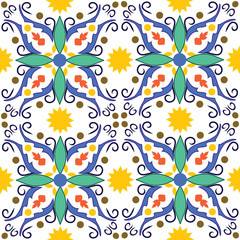 original mediterranean tile from sicily