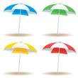 Beach umbrella basic - 53193097