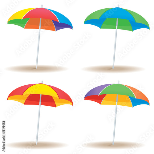 Beach umbrella variety